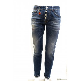 AT.P.CO: Trousers Open Weave Slim Fit
