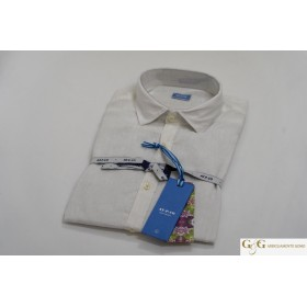 Koon: Solid Color Slim Fit Shirt With Floral Pattern